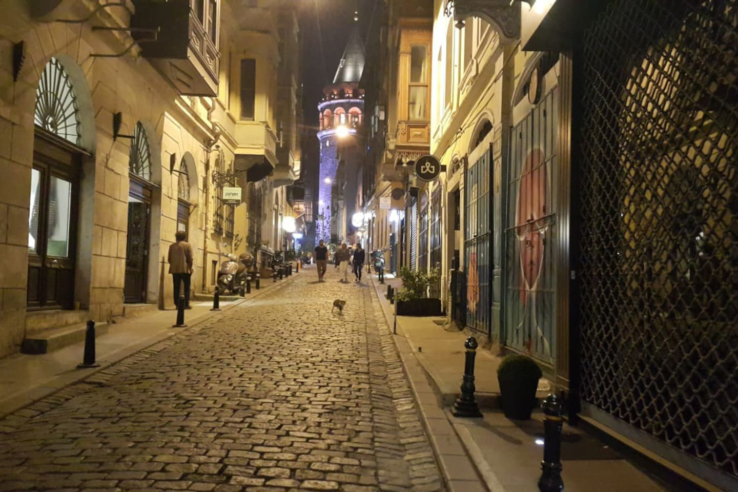 Street view / Galata Tower