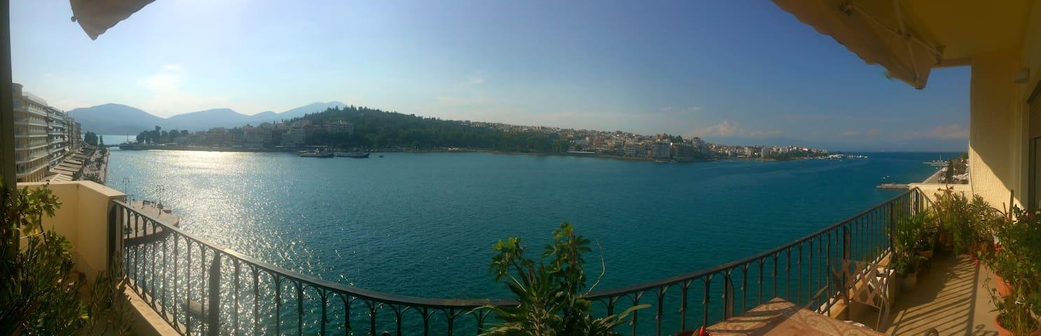 Διαμέρισμα με θέα στην παραλία της Χαλκίδας - Chalkida - Apartament