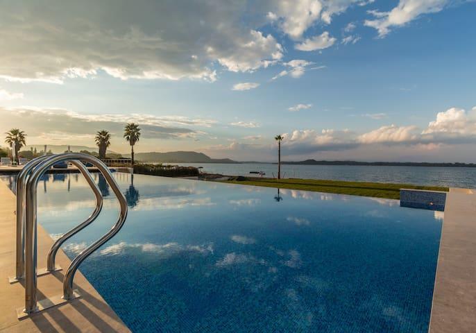 Beachfront Villa Natalia with Two Private Pools