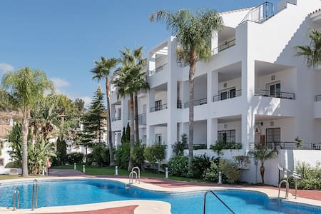 Fantastic apartment with pool and stunning views