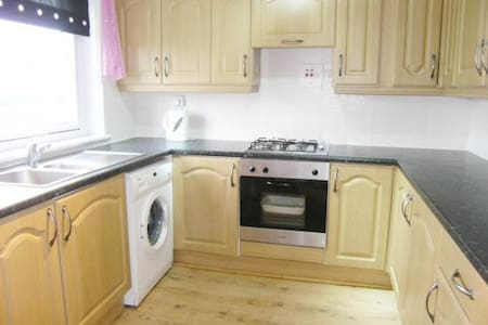 Bright & cosy room in town centre - Johnstone - Apartamento