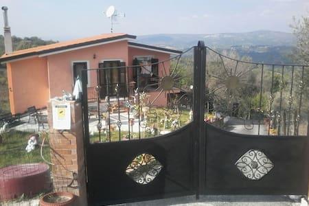 Casa etnica sulla collina - Montemarano - Haus