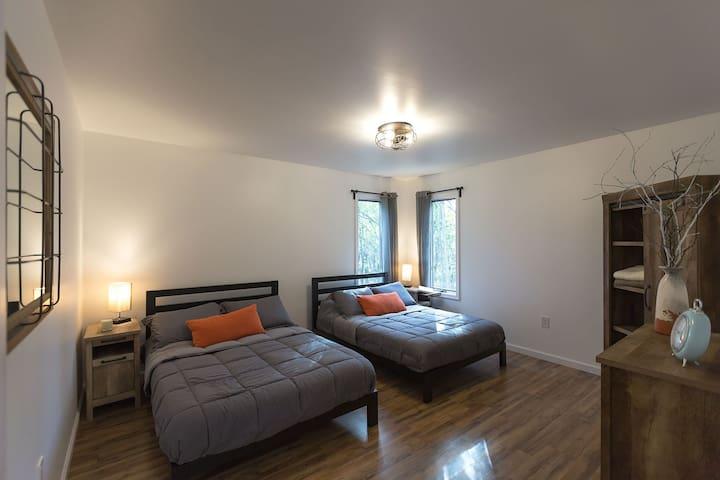 Bedroom #1 ground floor