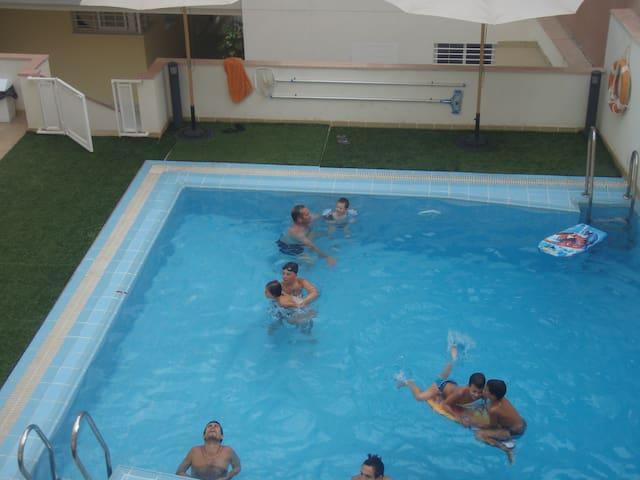 Estudio a 100 metros de playa - El Morche - Pis