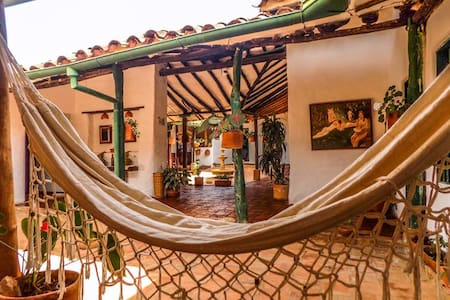 Double room in Casa Nacuma - Barichara - Vendégház
