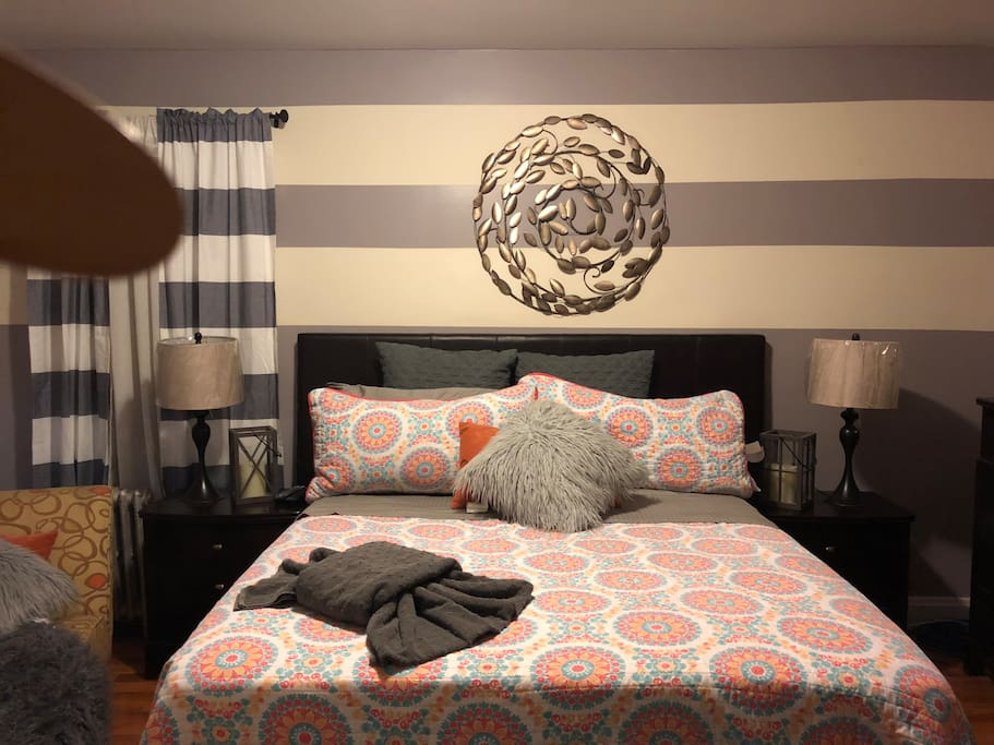 Comfy room with a look of delight to the eyes