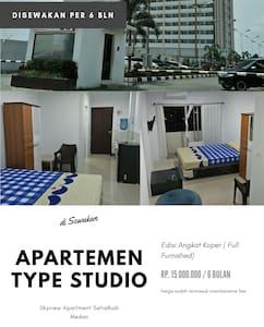 Apartment Type Studio Rent for 6 Month