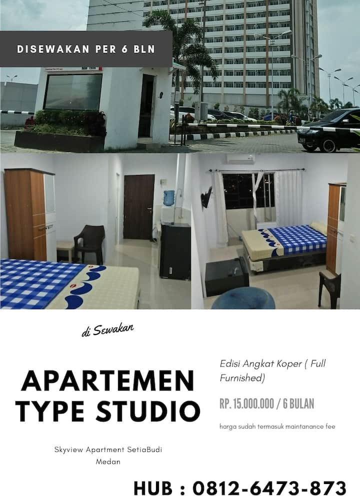 Apartment Type Studio Rent for 6 Month