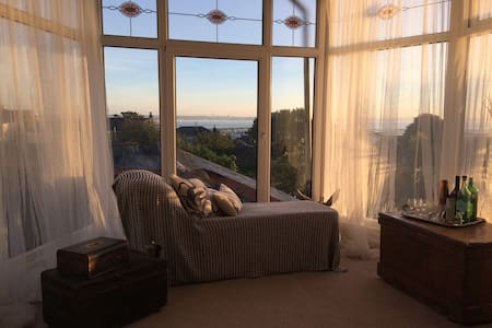 Room in stylish Ryde apartment with amazing view