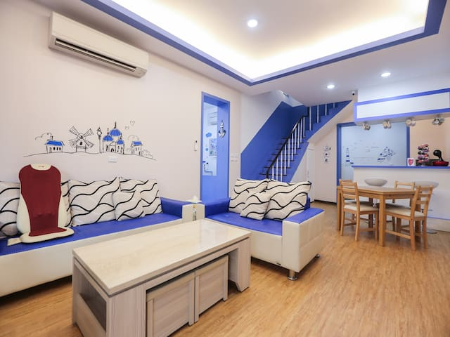 男女混合背包客房的兩個床位(6人房或8人房) - TW - Minsu (Taiwan)