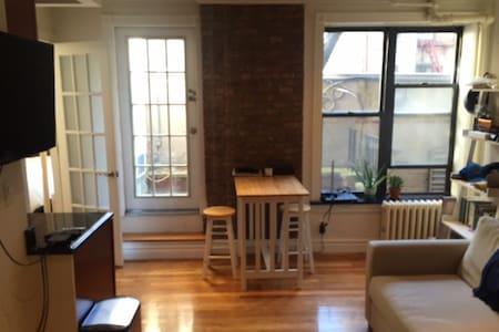 Charming 1BR Apartment in Soho / Nolita - New York - Apartment