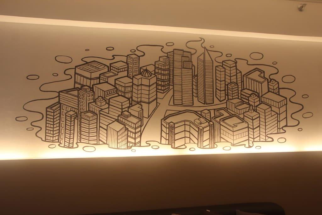 Dim Light with the City