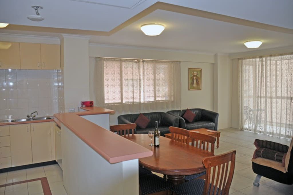 Lounge Room and Kitchen