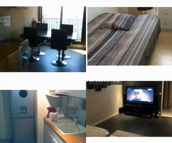 Bedroom Paris  Accès rapide ST lazare & Défense