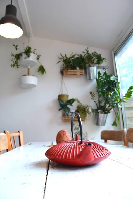 Véranda/salle à manger