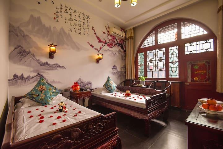平遥行会馆,高级双床房 - Jinzhong - Guesthouse