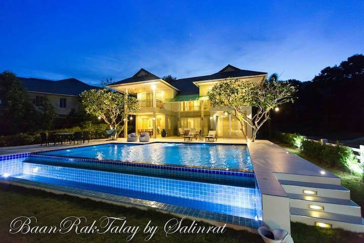 BAAN-RAK-TALAY POOL VILLA, PRIVATE&RELAX IN HUAHIN