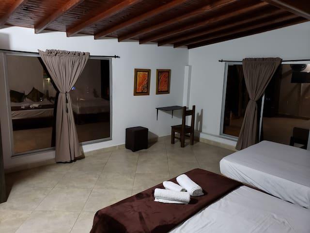 Ven y disfruta en el hospedaje gemas San Joaquín
