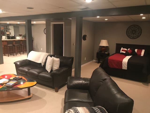 Spacious Finished Basement Apartment