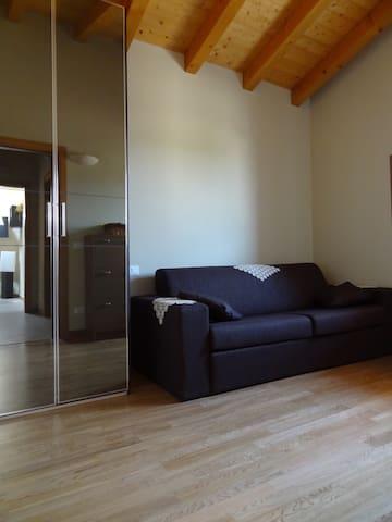 Seconda camera con divano letto