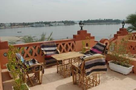 Villa al Diwan Nile view and private pool in Luxor