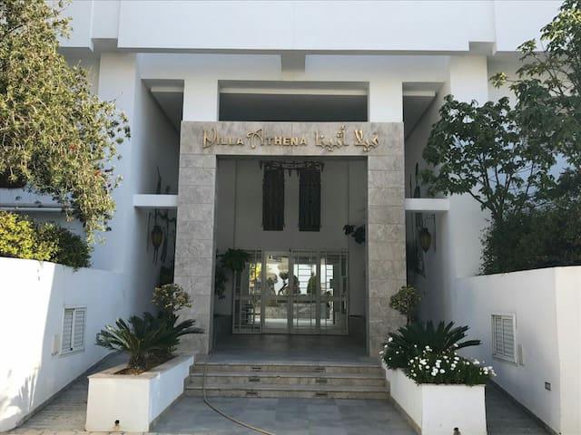 Bel appartement tous conforts à la Soukra