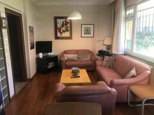 2 bedrooms. Beautiful & quiet area @ European side
