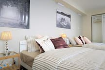 Lovely room accommodate for Max 9 guests