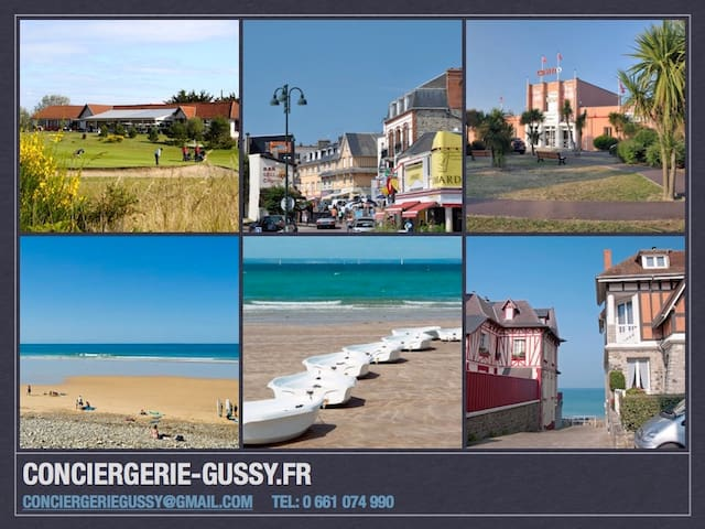 Gite maison proche mer et commerces - Agon-Coutainville - Dům