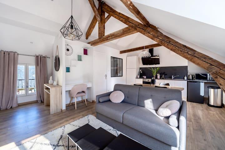 Appartement hyper centre de Dieppe - WIFI inclus