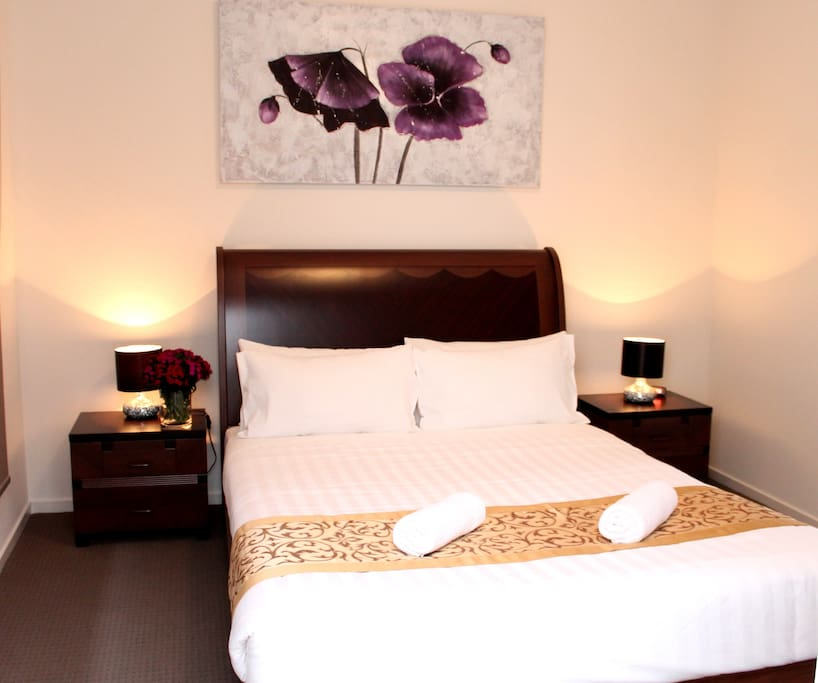 Master Bedroom with Queen Bed, an Ensuite