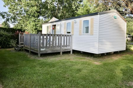 Mobile-home 4 places sur camping avec piscine - La Mothe-Achard - Domek parterowy