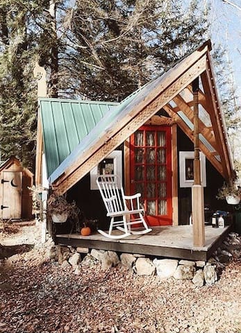 Magical Cozy Vermont Cabin & Sauna - Marshfield - Ev