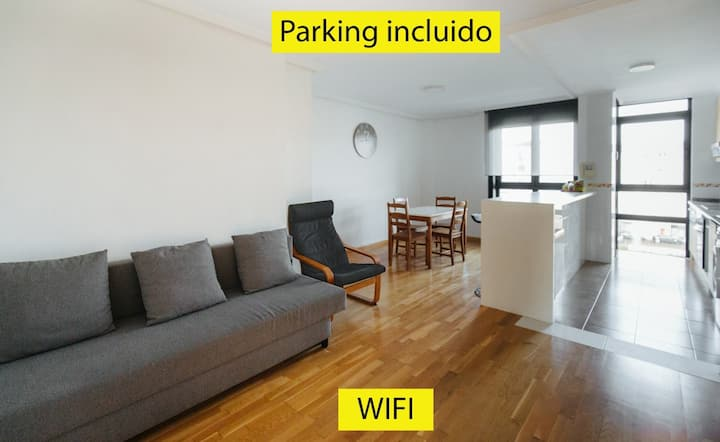 Apartamento MyM 2 con parking