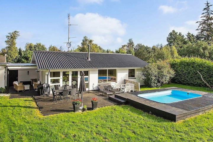 Sprawling Holiday Home in Væggerløse with Private Pool