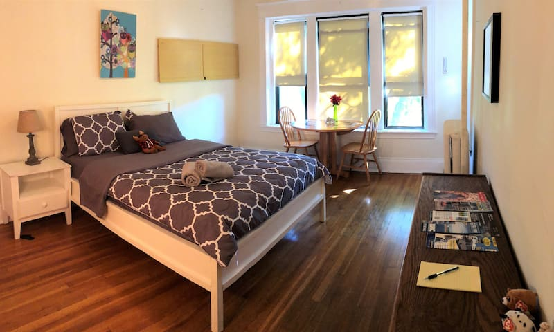 Private Master Bedroom in the Heart of Brookline