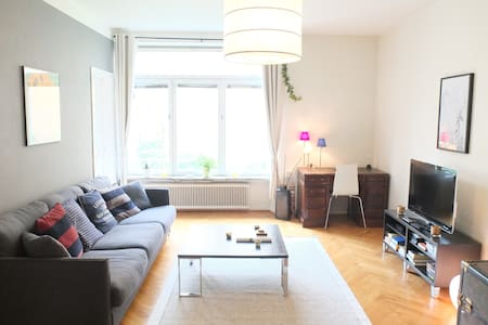 Roomy apt and a lovely yard in SoFo - Estocolm - Pis