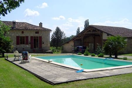 19th century French farmhouse - Miramont-de-Guyenne - Casa