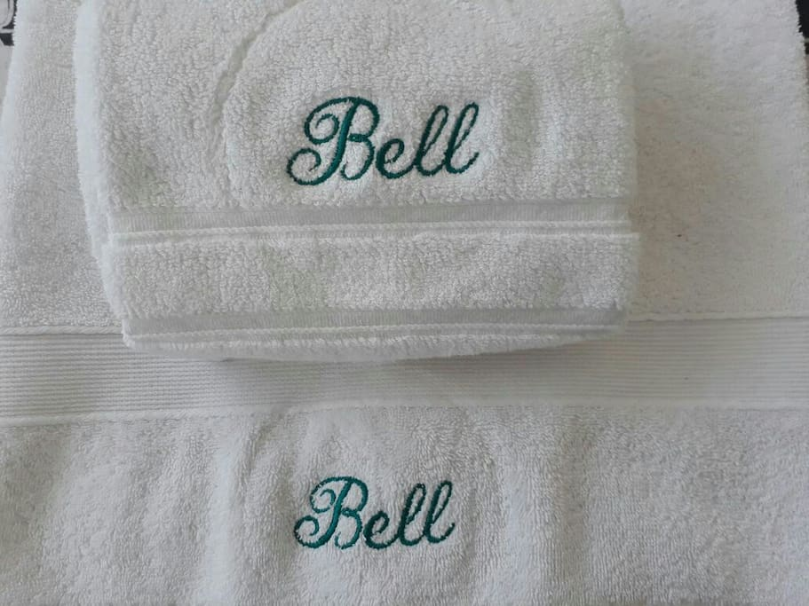 Towels and sheets for all the guests