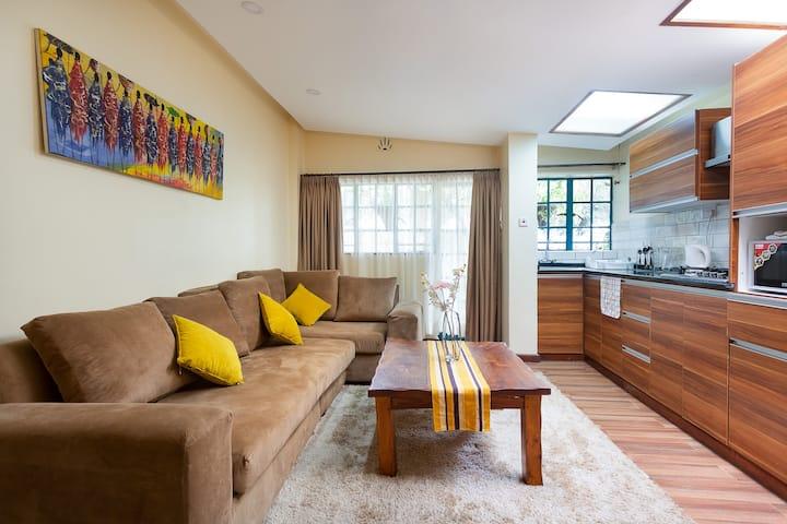 Modern charming cosy retreat