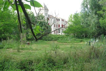 Chambre spacieuse - Chateau Laroque - Sallèles-d'Aude