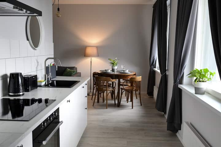 Scandi Appartment in Old Town