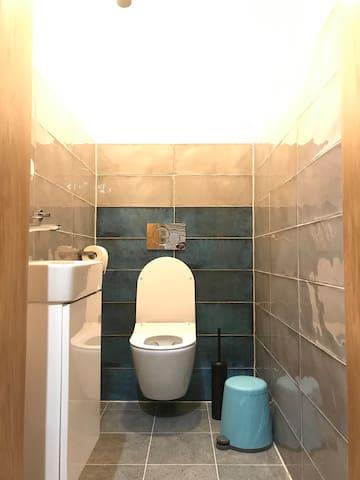 toilet, ground floor