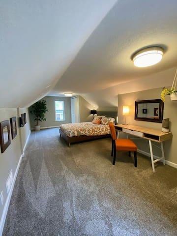 Upper Level Bedroom Office Suite