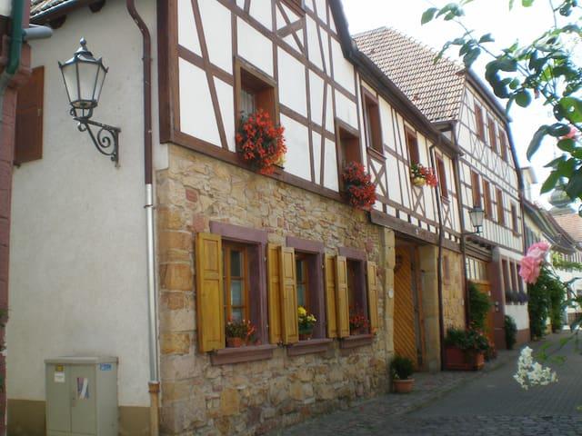 Besonderes Flair in der Altstadt  Bad Bergzaberns