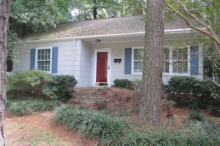 Warm & Comfy Downtown Cary Cottage - 卡瑞(Cary)