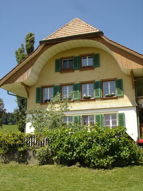 sunny apartment in the Emmental