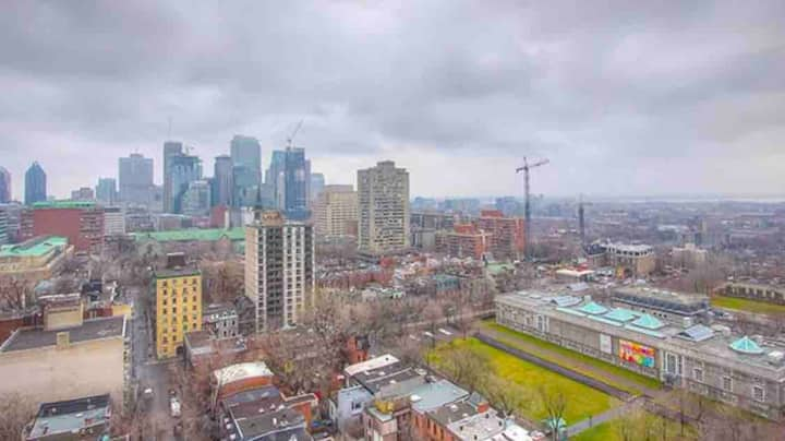 Incredible View of Montreal & Great Downtown Area