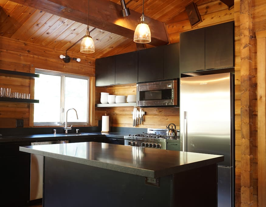 Upstairs Remodeled Kitchen