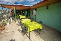 Casa Dayami de Cervantes  verde triple